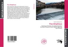 Bookcover of Fox-Amphoux