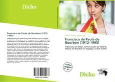 Bookcover of Francisco de Paula de Bourbon (1912-1995)