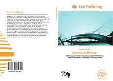 Bookcover of Emmanuel Mounier