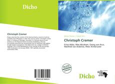 Bookcover of Christoph Cremer