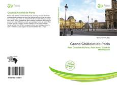 Bookcover of Grand Châtelet de Paris