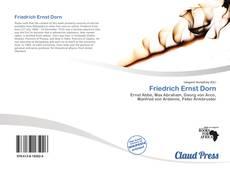Buchcover von Friedrich Ernst Dorn