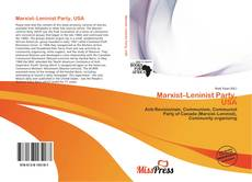Bookcover of Marxist–Leninist Party, USA