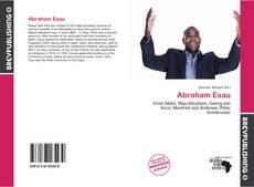 Abraham Esau的封面