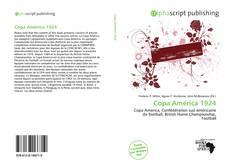 Bookcover of Copa América 1924