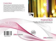 Обложка Friedrich Beck