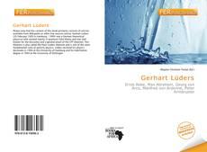 Buchcover von Gerhart Lüders
