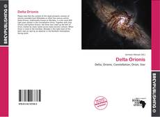 Portada del libro de Delta Orionis