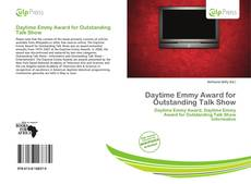 Bookcover of Daytime Emmy Award for Outstanding Talk Show