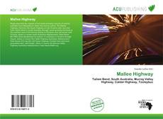 Bookcover of Mallee Highway