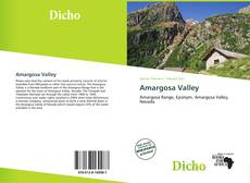 Bookcover of Amargosa Valley