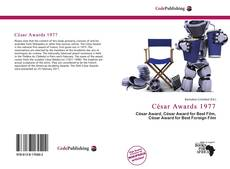Bookcover of César Awards 1977