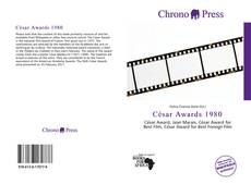Bookcover of César Awards 1980