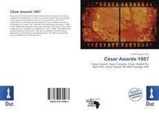 César Awards 1987 kitap kapağı
