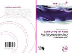 Capa do livro de Ewald Georg von Kleist