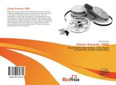César Awards 1989 kitap kapağı