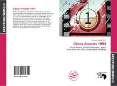 Bookcover of César Awards 1994
