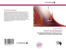 Bookcover of Erich Kretschmann