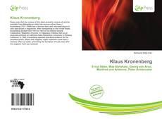 Buchcover von Klaus Kronenberg