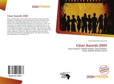 Bookcover of César Awards 2005