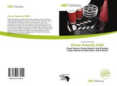 Bookcover of César Awards 2004