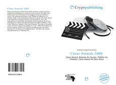 Bookcover of César Awards 2008