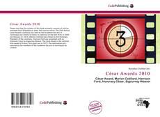 César Awards 2010 kitap kapağı