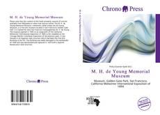 M. H. de Young Memorial Museum kitap kapağı
