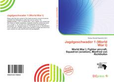 Bookcover of Jagdgeschwader 1 (World War I)