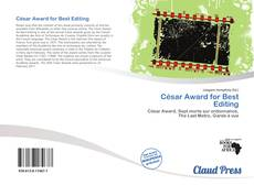 Bookcover of César Award for Best Editing