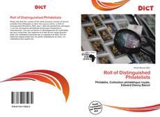 Обложка Roll of Distinguished Philatelists