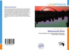 Bookcover of Mahananda River