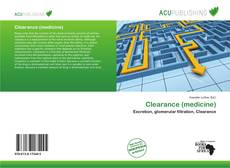 Bookcover of Clearance (medicine)