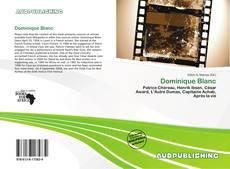 Capa do livro de Dominique Blanc