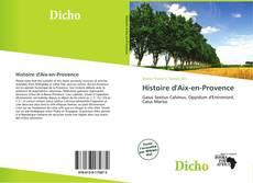 Couverture de Histoire d'Aix-en-Provence