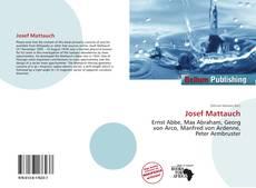 Bookcover of Josef Mattauch