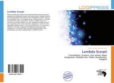 Buchcover von Lambda Scorpii
