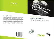 Carlos Thompson的封面