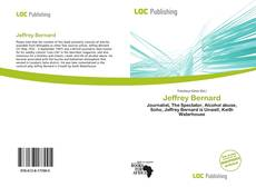 Bookcover of Jeffrey Bernard