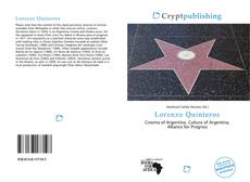 Bookcover of Lorenzo Quinteros