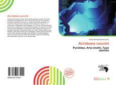 Acrobasis vaccinii的封面