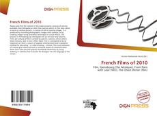 Capa do livro de French Films of 2010