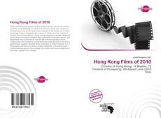 Bookcover of Hong Kong Films of 2010