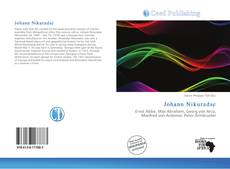 Bookcover of Johann Nikuradse