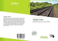 Bookcover of Lehigh, Iowa