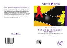 Portada del libro de 51st Venice International Film Festival