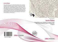 Portada del libro de Ionia Odos