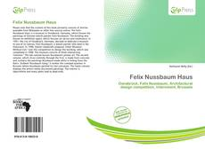 Bookcover of Felix Nussbaum Haus