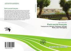 Bookcover of Parti social français