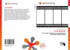 Lola Beltrán kitap kapağı